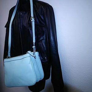 Merona Womens Handbag Light Lime Color Strap
